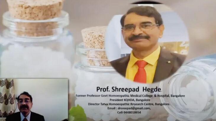 「リサーチ重視の症例」Prof.シュリパド・ヘッジ(インド政府ホメオパシー医学大学病院 元教授)